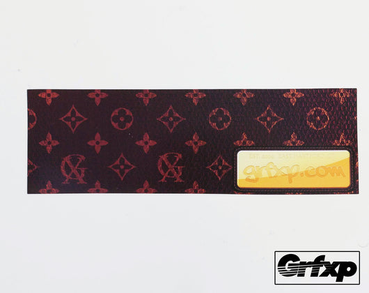 GRFXP Vuitton Style Logo (Luxury Series) Printed Sticker