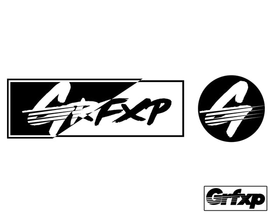 New Grfxp Slap Pack Printed Stickers