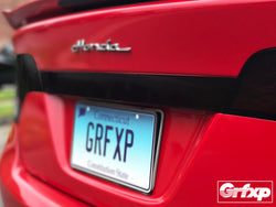 Chrome Trunk Accent Overlay for 8thGen Civic Sedan (2006 - 2011)
