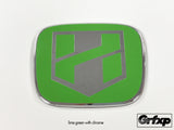 H-BLADE Logo, JDM Emblem Color Changing Overlays Front & Rear Set
