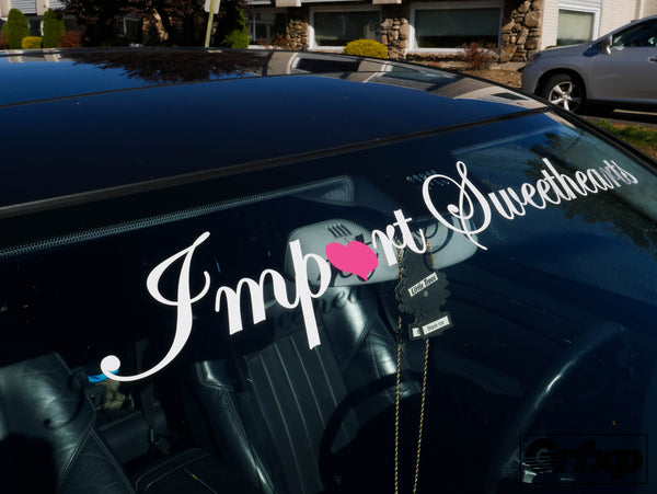 Import Sweethearts Crew Banner
