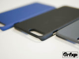 iPhone 7 Plus SoftGrip Case, Sandstone style case, ultra thin, black, cobalt blue and charcoal gray.