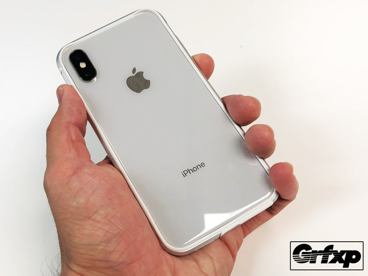 Lunar Bumper Case for iPhone X, Silver.  Forget K11, dbrand Grip and Rhinoshield Mod, this IS the bumper you want!