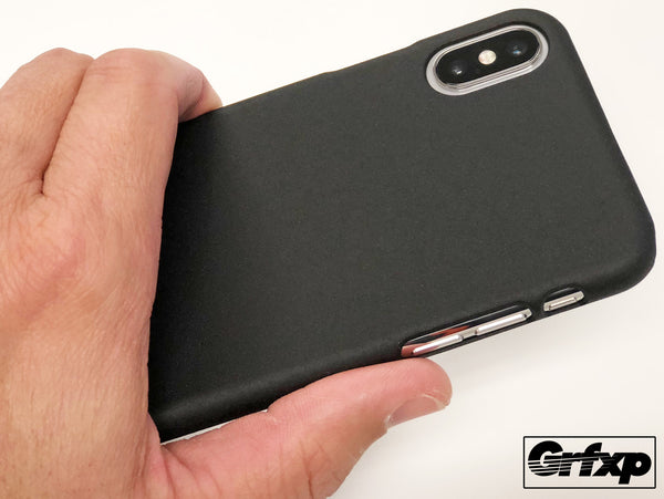 SoftGrip (Sandstone) Textured Case for iPhone X