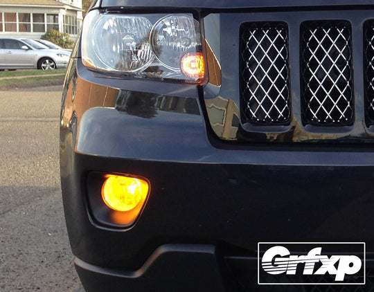 Fog Light Overlays for Jeep Grand Cherokee (2011 – 2013)