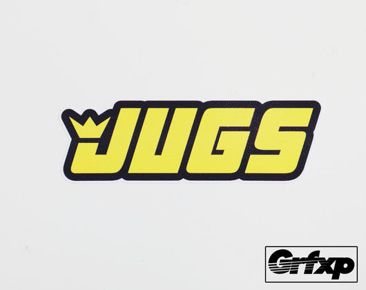 Jugs Printed Sticker