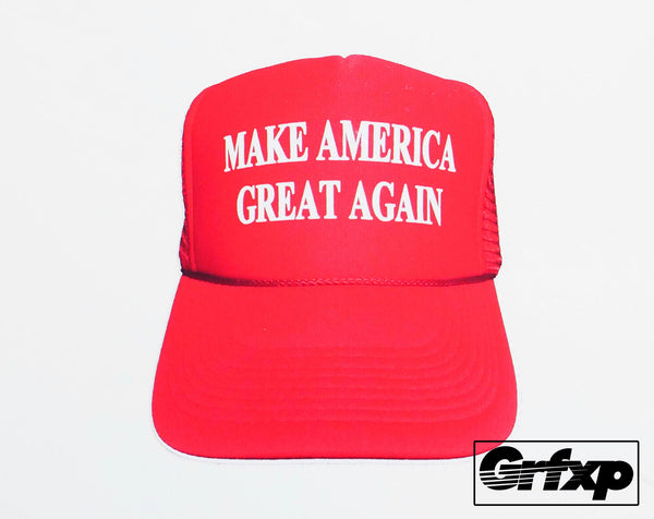 Make America Great Again Hat Printed Sticker