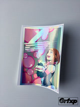 *LIMITED EDITION* Grfxp X MHA/Ochako Iridescent Printed Sticker