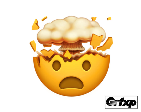 Mind, Blown! Emoji Sticker