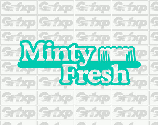 Minty Fresh Sticker