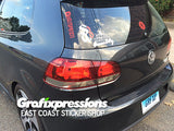 Taillight Overlays for MK6 VW Golf / GTI / Golf R (2dr/4dr)