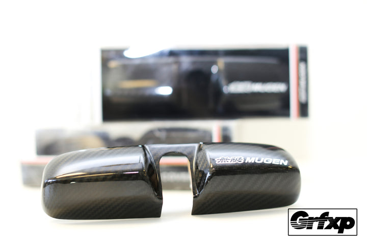 Mugen Carbon Fiber Mirror Cover