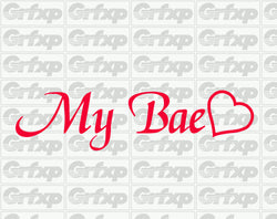 My Bae Sticker