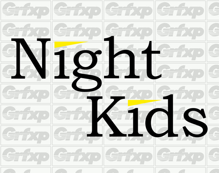 Night Kids (Initial-D) Sticker