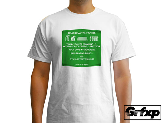 Prayer to the Car Gods T-Shirt