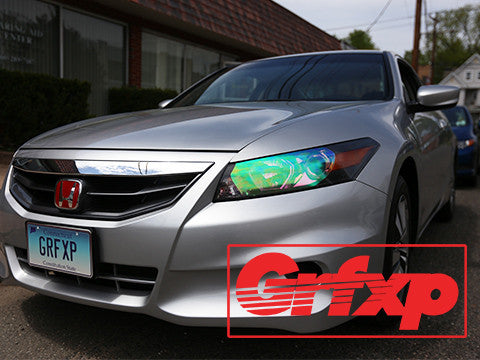 Headlight Overlays for Honda Accord 8thGen Coupe (2008-2012)