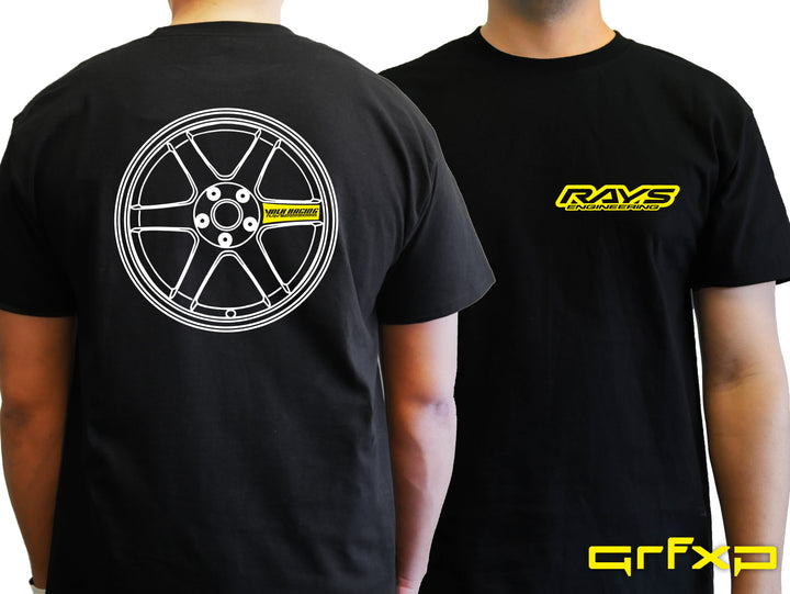 RAYS Engineering TE-37 T-Shirt