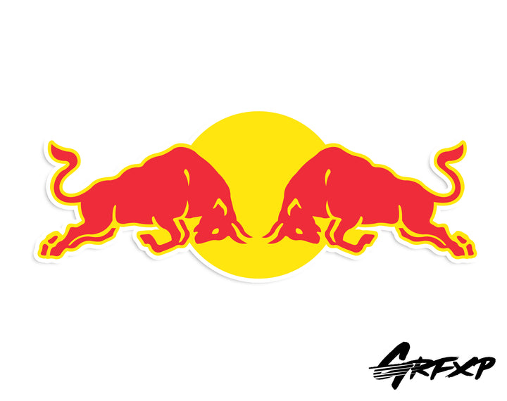 RedBull Printed Sticker