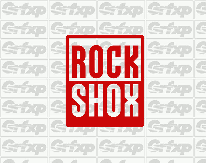 ROCKSHOX Box Sticker