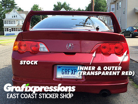 Taillight Overlays for Acura RSX (2002 – 2004)