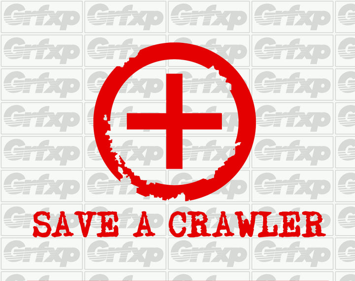 Save a Crawler Sticker
