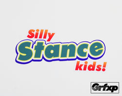 Silly Stance Kids Printed Sticker