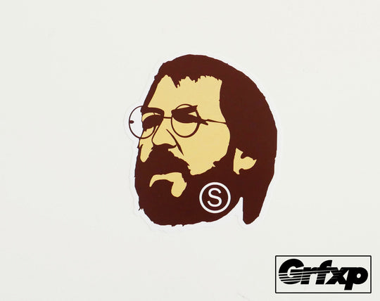 Steve Jobs (Bathing Ape Style) Printed Sticker