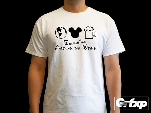 Stumbling Around the World T-Shirt