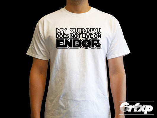 My Subaru Does Not Live On Endor T-Shirt