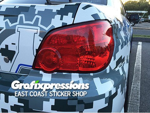 Taillight Overlays for GD WRX / STi (2003 – 2007)