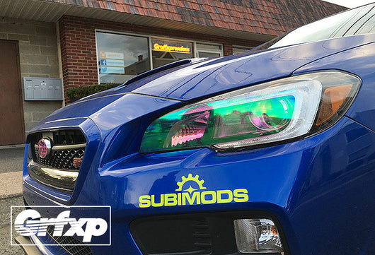 Headlight Overlays for Subaru WRX/Sti (2015+)