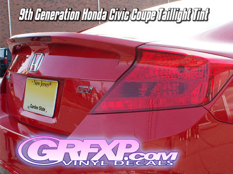 Taillight Overlays for 9thGen Honda Civic Coupe (2012-2013)