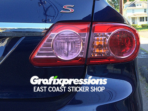 Taillight Overlays for Toyota Corolla S (2011-2013)