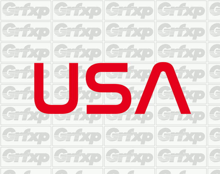 USA 2018 Winter Olympic Style Sticker