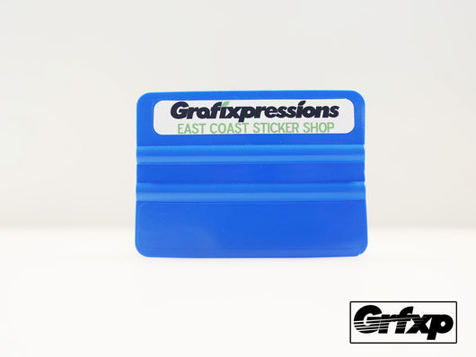 Vinyl Applicator Squeegee (Blue)