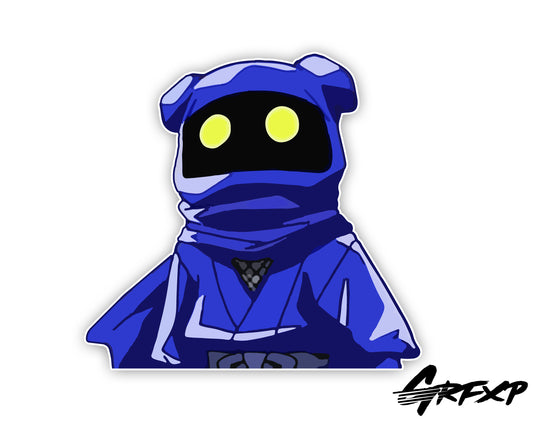 Vivi Peeker Printed Sticker