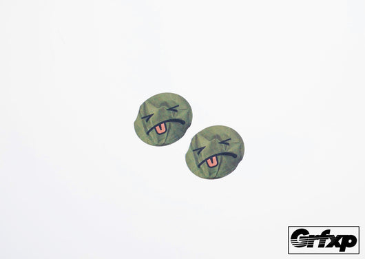WA2000 Smiley Printed Sticker (two pack)