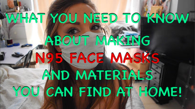 Make N95 Face Mask out of scientifically tested household material
