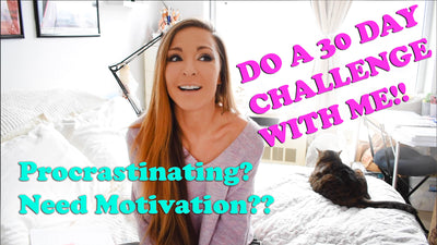 How to find motivation, inspiration & productivity at home! Overcome self-doubt & 30-day Challenge!