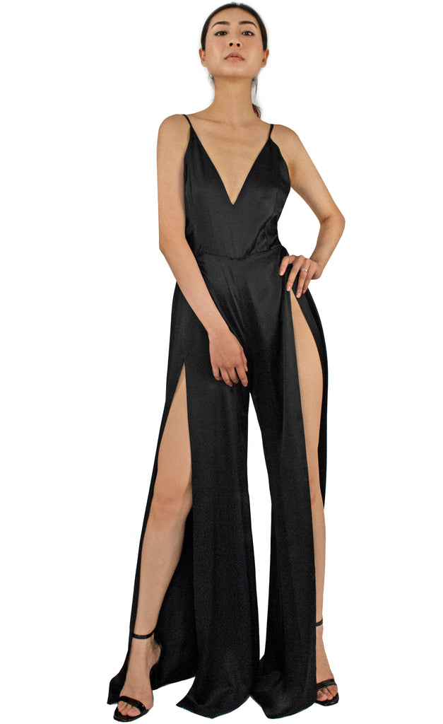 Janelle Sleek-Peek Jumpsuit