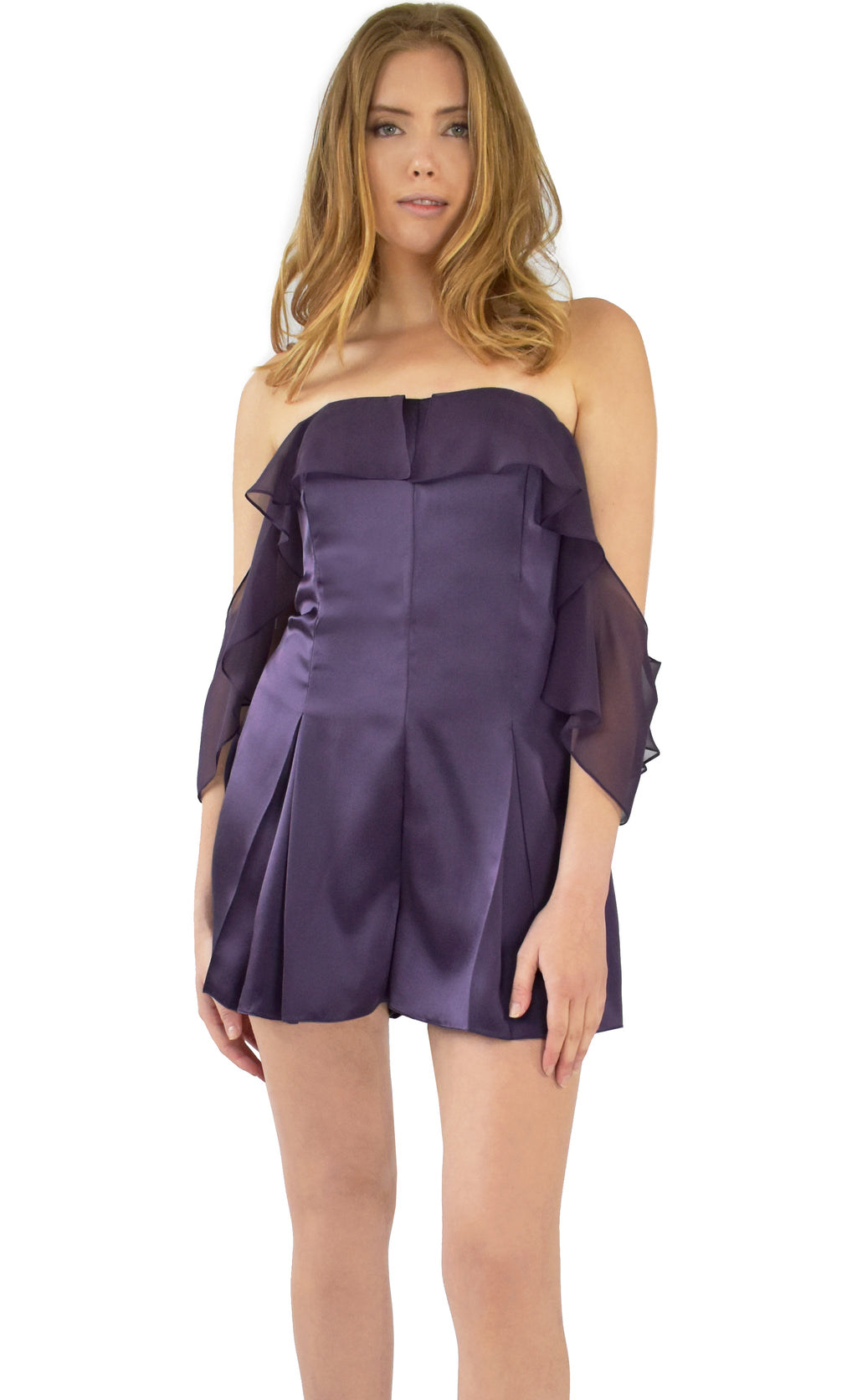Jazmin Evening Romper - KxLNewYork
