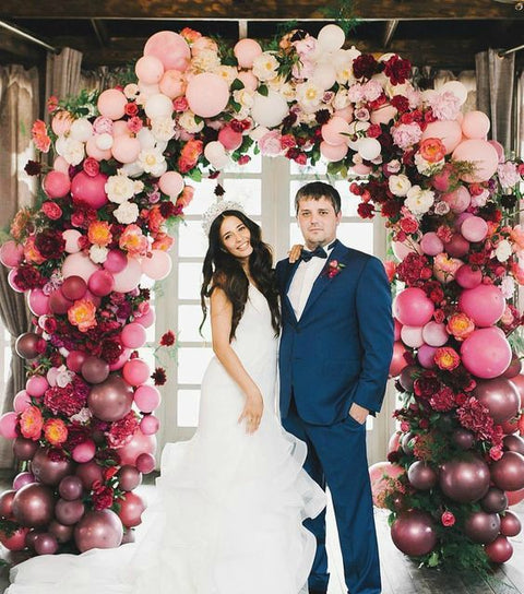Gather some Elevated Inspiration for the Arch Decor at Your Wedding Ceremony