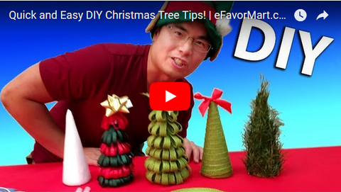 DIY Christmas trees to get you in the holiday spirit!