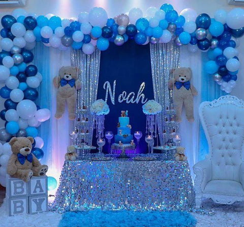 Adorable Teddy Bear-Themed Baby Boy Shower Ideas