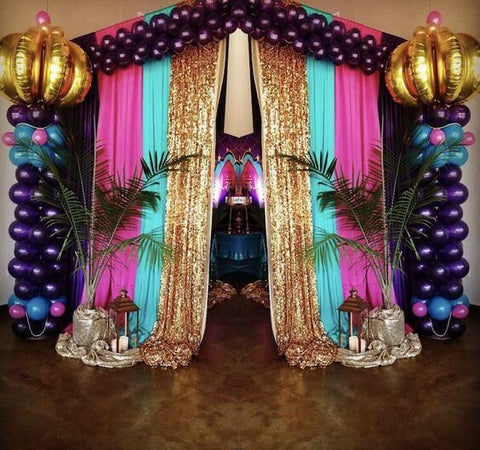 Bring a Majestic Touch to Your Party's Décor with an Arabian Night Theme