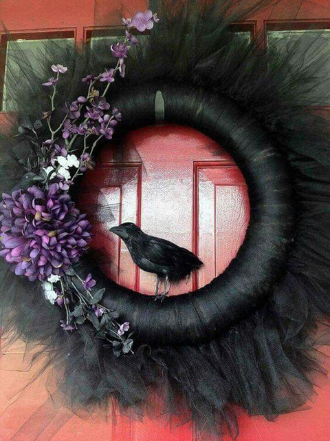 Three Effortless Ways to Personalize Halloween Wreath Décor