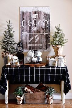 Warm Up Your Event by Setting Up a Hot Cocoa Bar