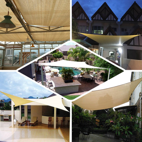Create Distinctive Entertainment Spaces With Elegant Sun Shade Sails!