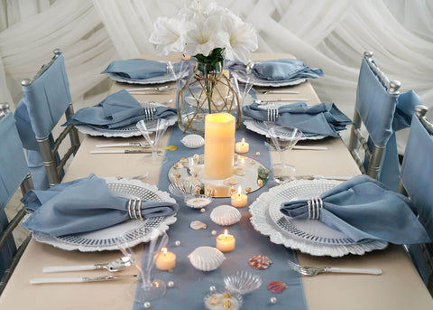 Teleport to the Seaside with Our Beach Theme Table Decor