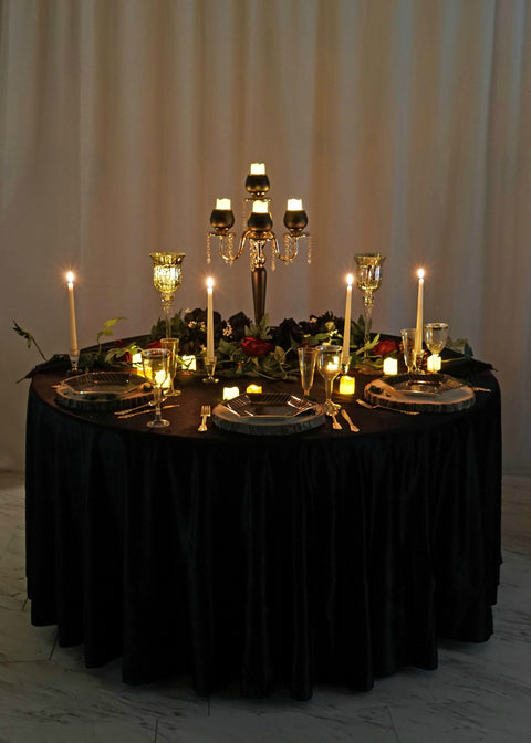 Host a Sophisticated Halloween Party with a 'Little' Spooky Tablescape